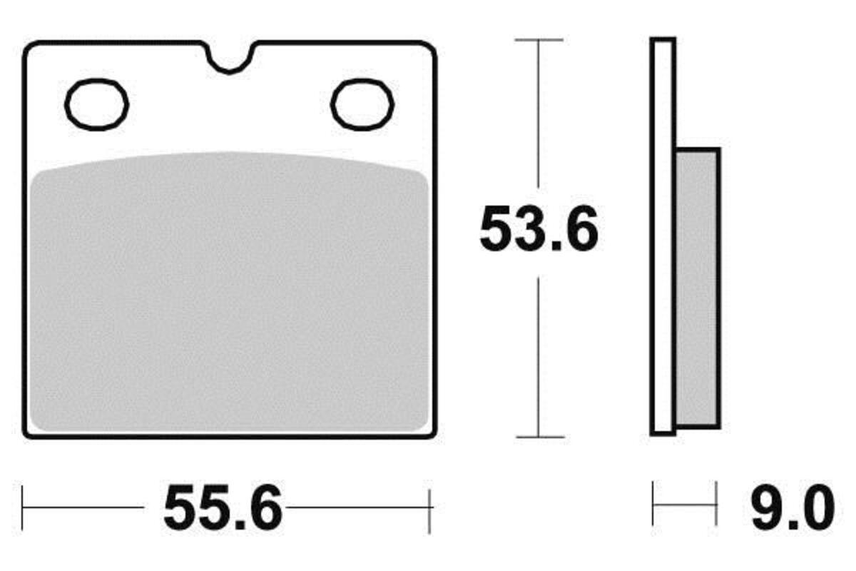 KYOTO-PASTILLAS-SEMI-SINTER-PARA-DUCATI-851-SUPERBIKE-1988-HINTER